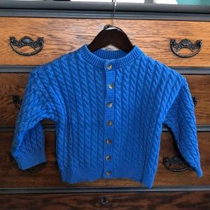 Hanna Andersson Button Down Sweater Size 4T